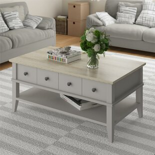 Rutan Coffee Table by Beachcrest Home