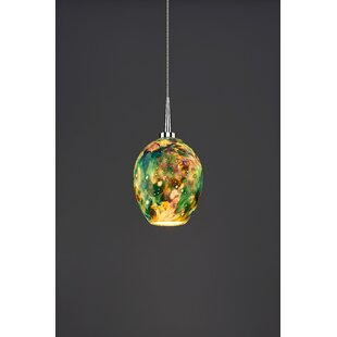 Bruck Lighting Bolero 1-Light Cone Pendant