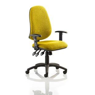 Novus Mid-Back Desk Chair By Symple Stuff