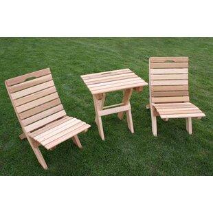Cedar 3 Piece Conversation Set