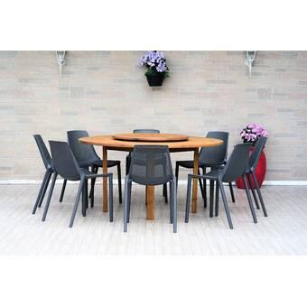 Allmodern Nettleton 7 Piece Dining Set Wayfair