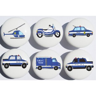 Police Appliance Pull (Set of 6)