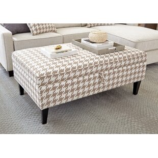 Kerlin Luxurious Fabric Storage Ottoman by Alcott Hill