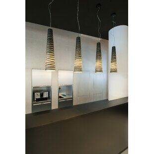 Strasburg 1-Light Cone Pendant by Ivy Bronx