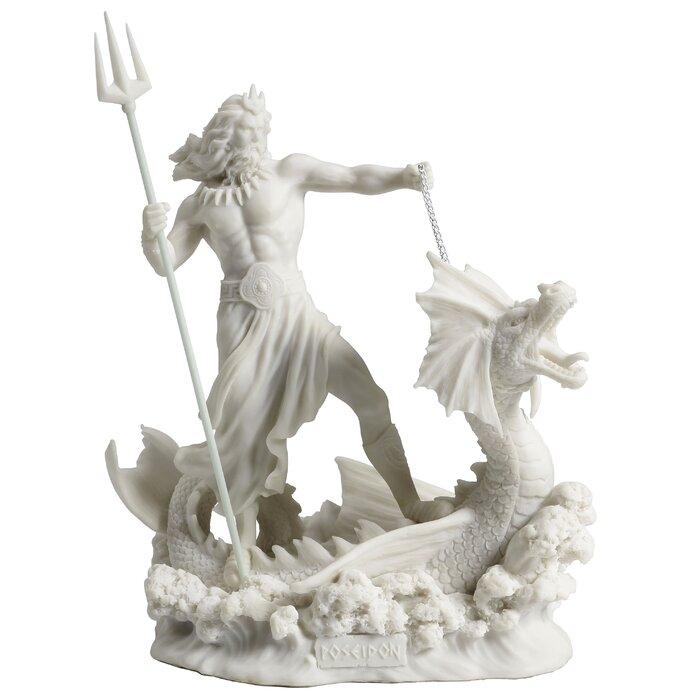 Fludd Poseidon Greek God Of The Sea Figurine