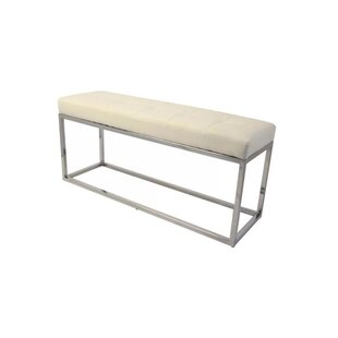 Harlingen Faux Leather Bench