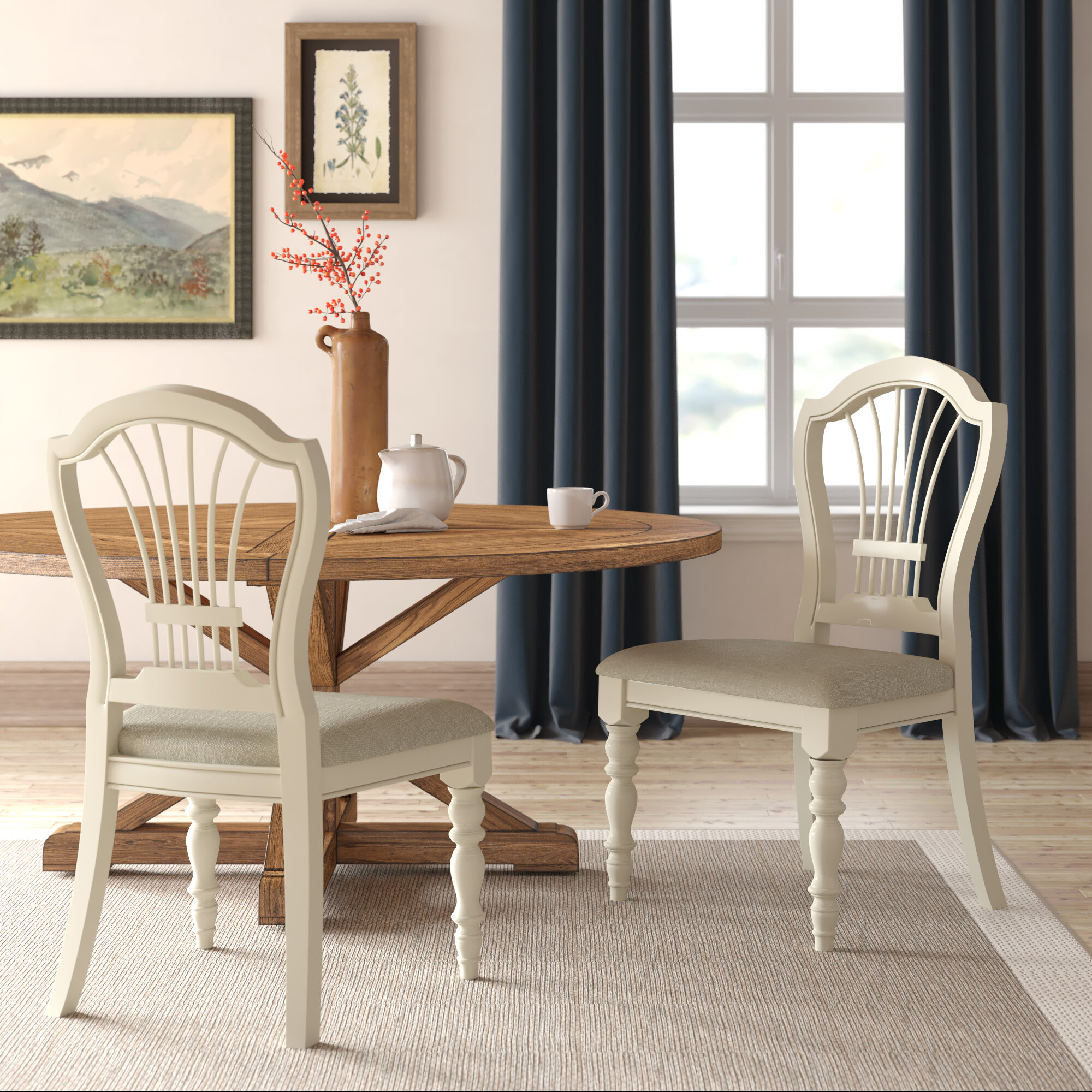 Image of: Copley Upholstered Dining Chair Reviews Birch Lane