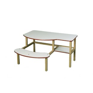 Grade School Buddy Manufactured Wood 45 Student Computer Desk by Wild Zoo