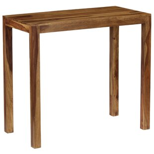 Darrow Solid Sheesham Wood Pub Table By Union Rustic