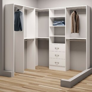 Compare prices Demure Design 78.25W - 81W Closet System By TidySquares Inc.