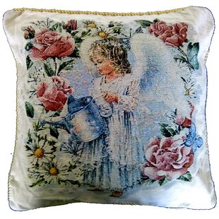 Angel In the Garden Pillow Case (Set of 2)