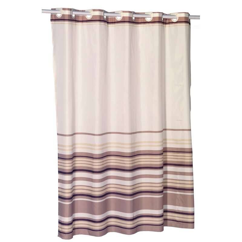 Ben and Jonah EZ-ON® Stripes Shower Curtain | Wayfair