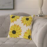 Sunflower Pillow Covers Wayfair