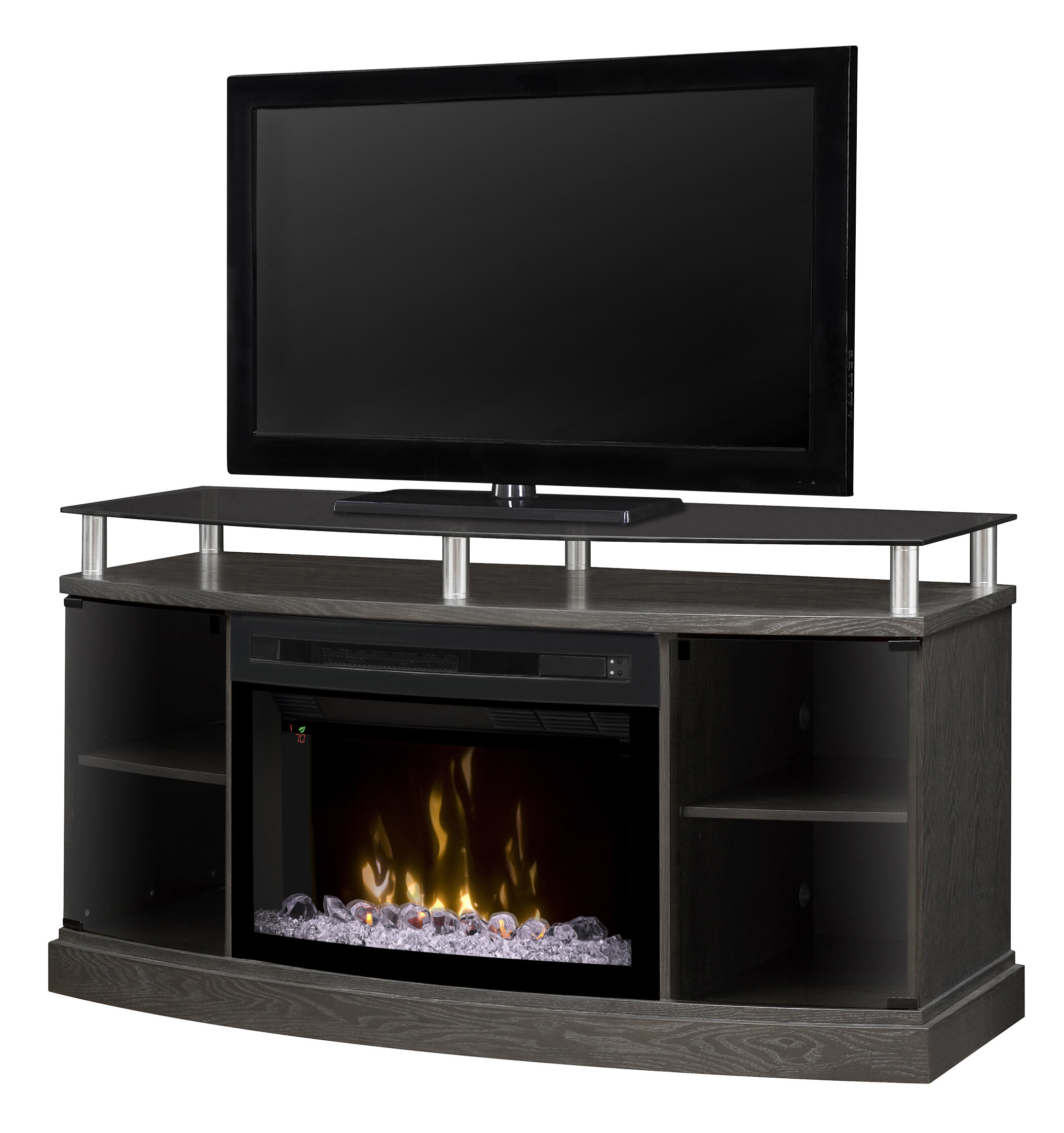 Shop Wayfair for the best gas fireplace with tv stand. Enjoy Free Shipping on most stuff