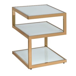 Marconi Glass End Table