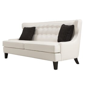 Ava Leather Sofa by Willa Arlo Interiors