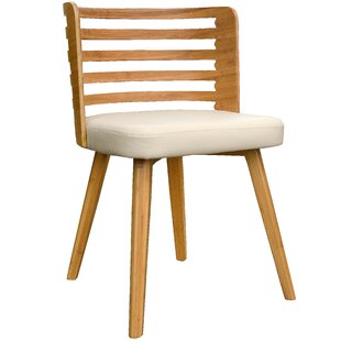 Westhoff Bamboo Upholstered Dining Chair
