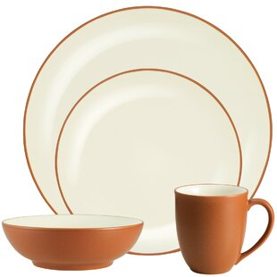 Colorwave Coupe 4 Piece Place Setting, Service for 1