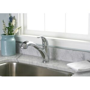 Premier Faucet Sanibel One Handle Centerset Pull-Out Kitchen Faucet