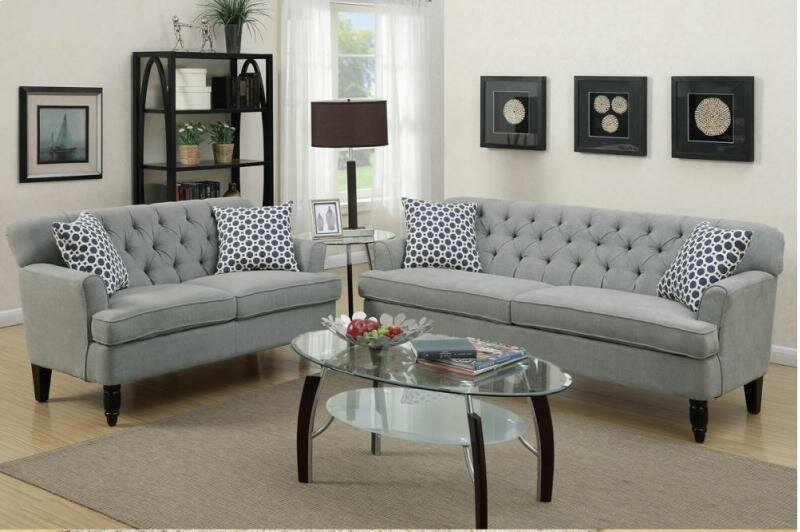 Angel 2 Piece Living Room Set