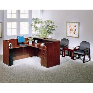 Receptionist desk for salon Tufted Quickview Valeria Furniture Salon Reception Desk Wayfair