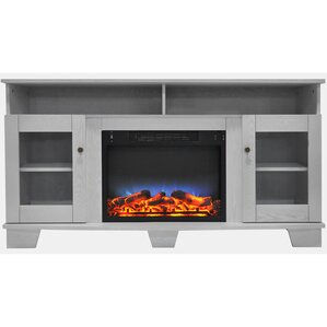 Ackermanville Electric Fireplace TV Stand by Red Barrel Studio