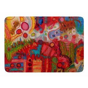 Desert Under A Full Moon by Jeff Ferst Memory Foam Bath Mat