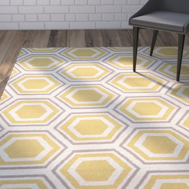 cassiopeia ivory yellow area rug