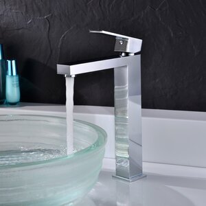 Enti Vessel Sink Faucet with Drain Assembly