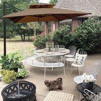 Deals on Fazeley 9ft x 12ft Rectangular Cantilever Umbrella