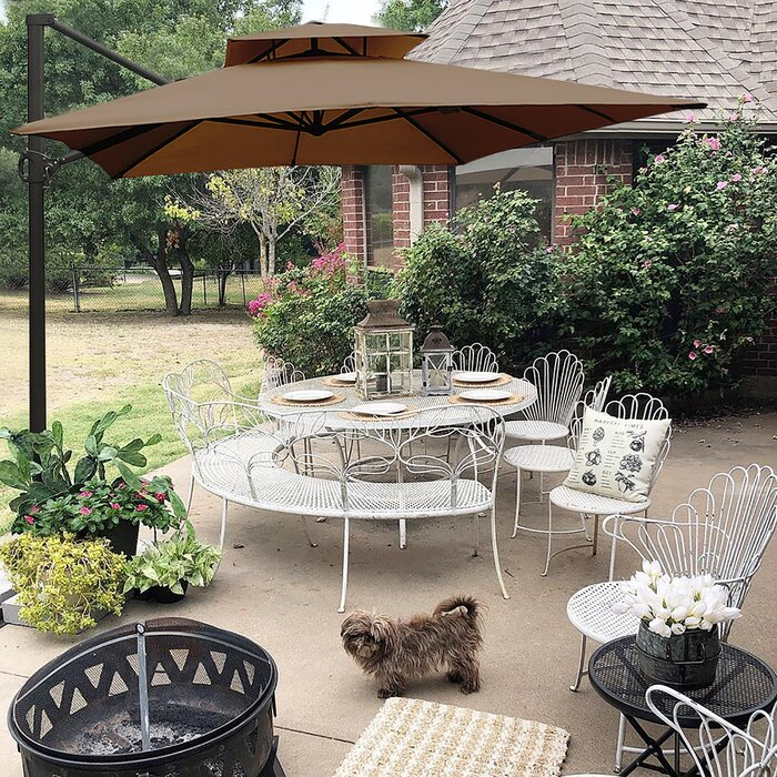 Fazeley 9' x 12' Rectangular Cantilever Umbrella