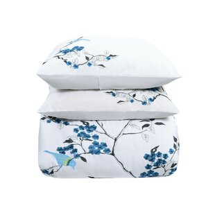 Pascal Embroidery 3 Piece Duvet Cover Set