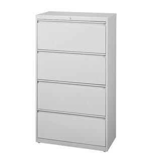 Harietta 4 Drawer Lateral Filing Cabinet
