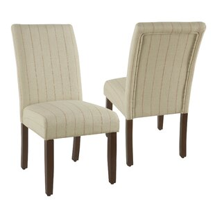 Shalanda Upholstered Dining Chair (Set of 2) by Gracie Oaks