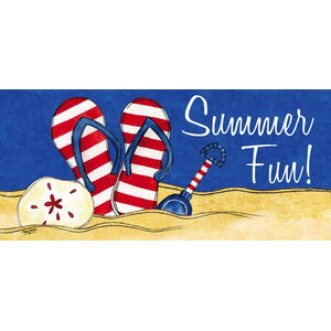 Summer Fun Sassafras Doormat