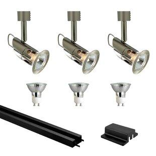 Jesco Lighting Deco Series 3-Light Mini Low Track Kit
