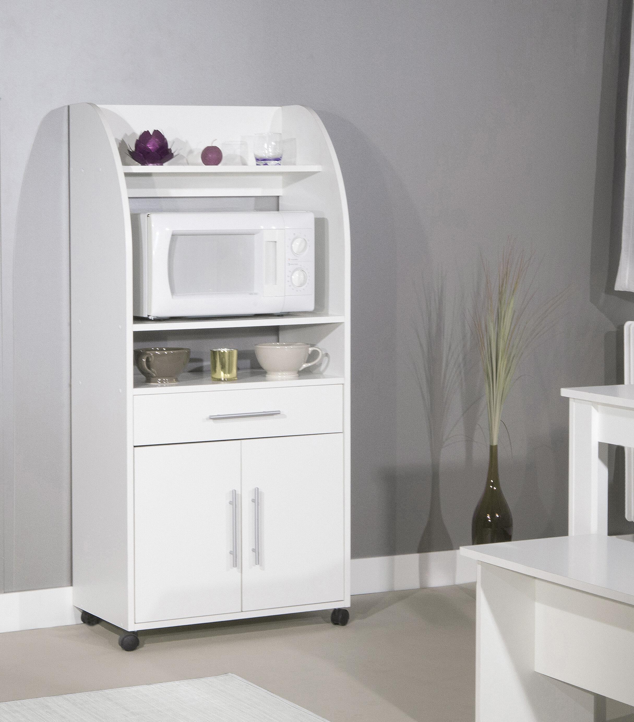 Kavanaugh Microwave Kitchen Cart