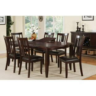Kidd 7 Piece Dining Set by A&J Homes Studio