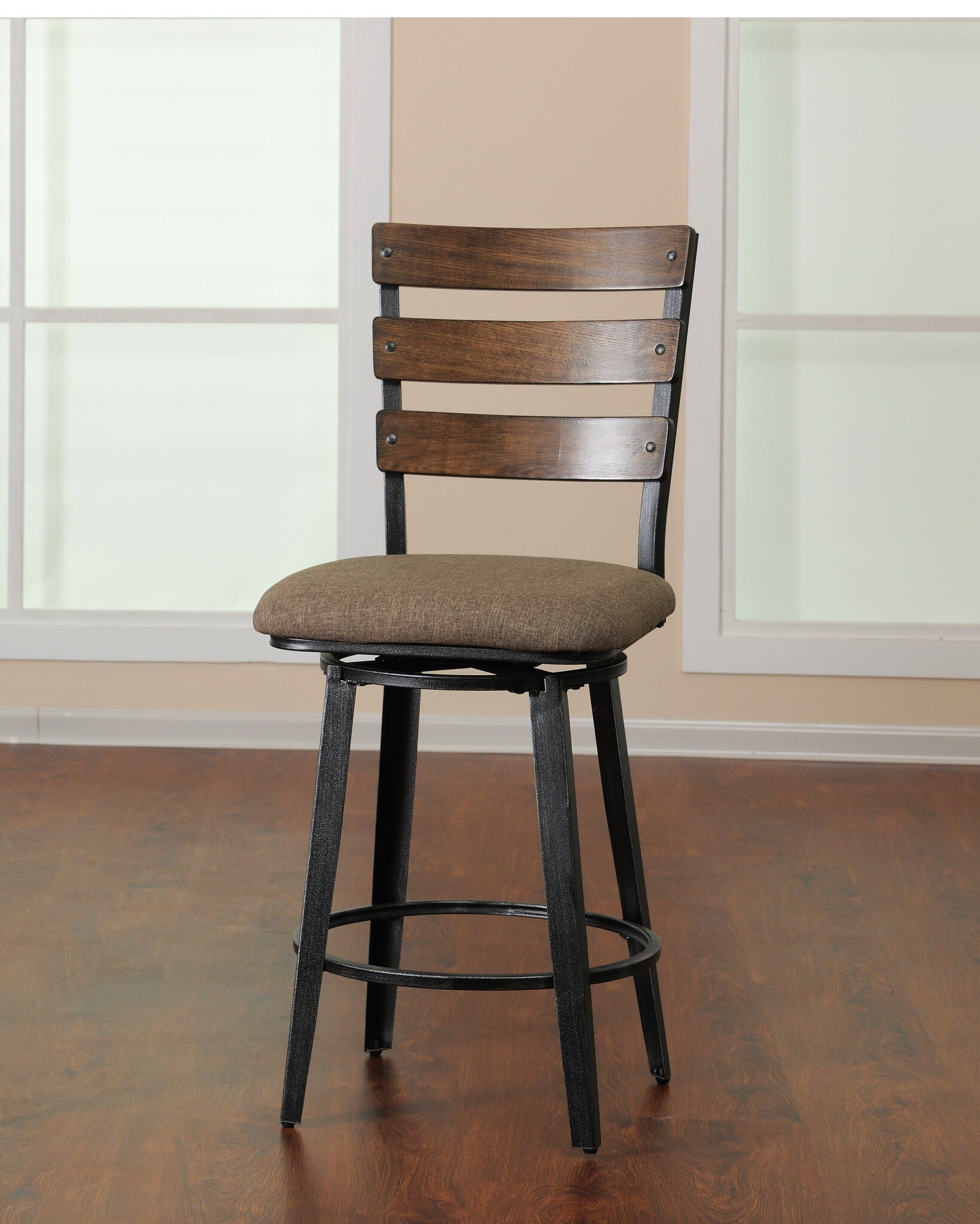 Trent Austin Design Fossil Contemporary Counter Height Swivel Bar Stool By  Simmons Casegoods   Wayfair