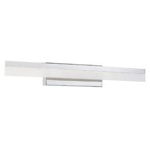 Latitude Run Apodaca 1-Light LED Bath Bar