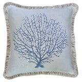 Mcgrady Coral Reef Sunbrella Indoor / Outdoor Throw Pillow