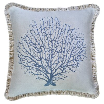 Mcgrady Coral Reef Sunbrella Indoor / Outdoor Throw Pillow by Rosecliff Heights Spacial Price