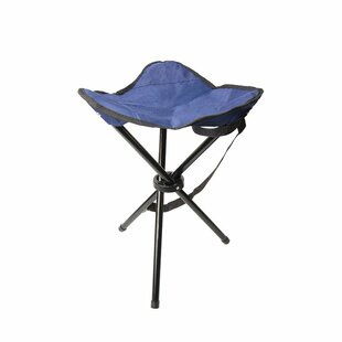 Tania Outdoor Tripod Folding Camping Stool with Cushion