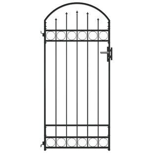 Dareau 3' X 6' (1m X 2m) Metal Gate By Sol 72 Outdoor