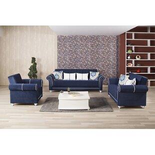 Curtice 3 Piece Sleeper Living Room Set By Rosdorf Park