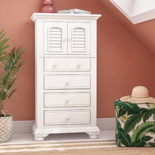 Lark Manor Montcerf 4 Drawer Combo Dresser