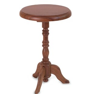 Colonial Ranch Parota Wood End Table