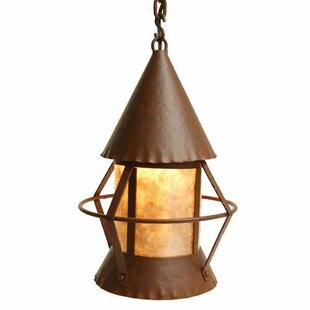 Gig Harbor 1-Light Geometric Pendant by Steel Partners