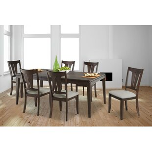 Bales 7 Piece Extendable Solid Wood Dining Set DarHome Co