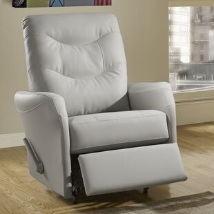 Avery Leather Power Rocker Recliner